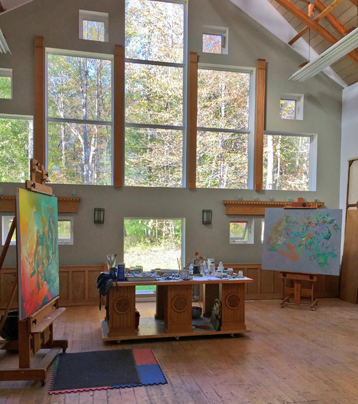 Whitely Studio interior